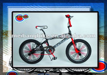 "20"" 2012 new design bmx 140H colorful spokes and 20*3.0 tire"