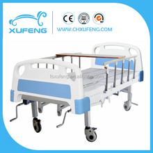 Hospital Homecare Commode bed with three function ,manual crank commode bed use for disable people