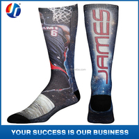 custom dye sublimation printing socks, custom sublimation socks, wholesale custom print socks