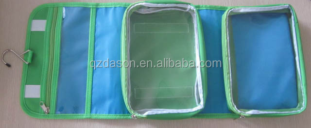 Folded Hanging Toiletry Bag