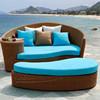 BBJ Patio wicker lying bed rattan outdoor bed
