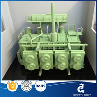 generator model Exhibition model of a transformer for an acoustic engineering company