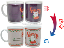 Corporate Gifts Hot Sensitive Ceramic Magic Mug