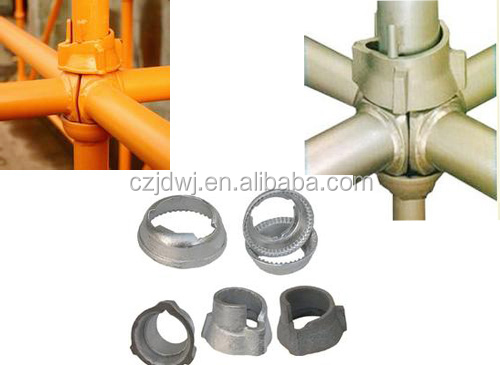 Cuplock Cup Top : Casteded top cuplock for type scaffolding system