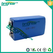 9v li-ion battery mp3 player from china with no leakage problems