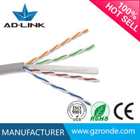 2015 Alibaba Hot Sale under carpet cable cat6 cat6 cable pass fulke test