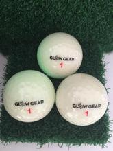 Novel glow golf ball golf driving range