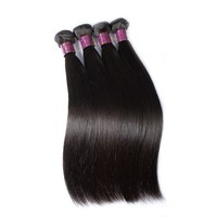 Free shipping human hair 14 16 18 inch brazilian clip on hair extension