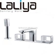 Modern design bathroom separate faucet for bathtub