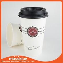 Single wall take away paper cups