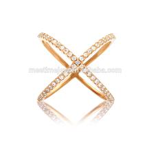 Fashion Gold Rings Fine circle gold ring