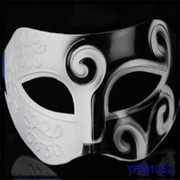 Hot selling 2015 Fashion Cheap pvc carnival face mask men for birthday party