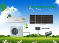 Air conditioner no electricity | 48V DC 100% solar a/c units 12000BTU