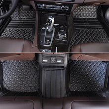 Right hand drive 3d car floor mat leather carpet for Ford sharp circle