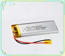 1500mah rechargeable battery 3.7v li-polymer