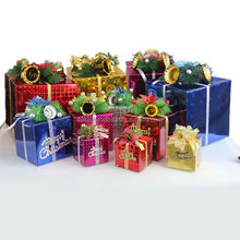 Luxury christmas paper cardboard gift packaging box manufacturer