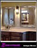Royal Eurpo style wood mirror frame for bathroom decorative mirror
