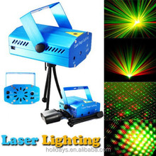 Hot sell Mini Projector R&G DJ Disco Light Stage Xmas Party Laser Lighting