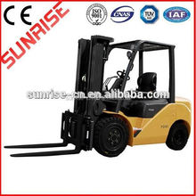 Good performance with side shift Toyota forklift