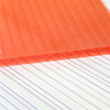 XINHAI manufactory Lexan raw material colored cellular roofing sheet cheap twin wall PC Sheet