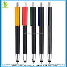 2015 Fancy 2 in 1 touch screen ballpoint pen with stylus