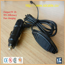 car Usb adapter female car lighter adapter DC power plug