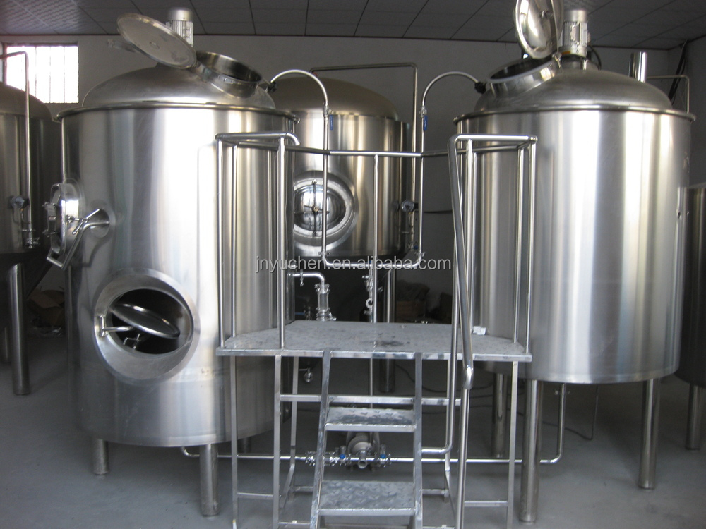 Craft beer tank 1 bbl beer brewing equipment 1bbl bbt with for Craft a brew fermenter