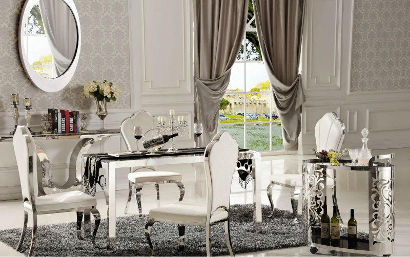 Salle a manger de luxe sjour et salle manger vus de la for Table de salle a manger luxe