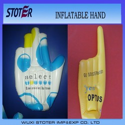 PVC Inflatable Hand , Promotion Inflatable Hand , Inflatable Cheering Hand
