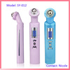 Electric handy rechargeable ultrasonic LED light photon therapy acupuncture eye vibrating roller massager