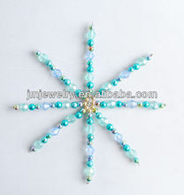 most popular feel cool Christmas decoration,snowflake christmas crafts