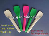 biodegradable plastic ice cream shovel spoon