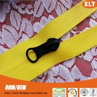 Original factory supply directly #5 air tight nylon zipper with auto lock slider