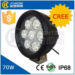 Cree LED Chip 70W LED Work Light, Round Lamp for Offroad 4X4 Trucks JEEP