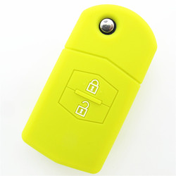 New products from China cheap price ,for mazda rubber car key remote covers