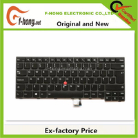 Genuine Original New for IBM Lenovo Thinkpad T440 T440P T440S T431 L440 backlit keyboard UK 00HW866 04X0168 04X0130