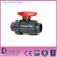 3/4 inch pvc double union ball valve (socket)