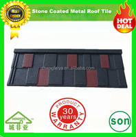 building material popular stone chips coated roof tile