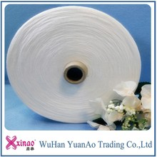 Ring spun paper yarn raw white