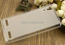 Pudding Matte Soft Gel TPU Phone Case for Lenovo A6000 Cover
