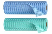 [Manufacturer] PET Non-woven microfiber cleaning cloth in roll/J Cloth/ Microfiber Wiping Cloth