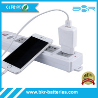 Pack Wall Charger High Quality USB AC 1.0A Power Adapter Home Travel Charger for Iphone 6 5 5s 5c 4S, Ipad 2 3 4, Ipad Mini etc