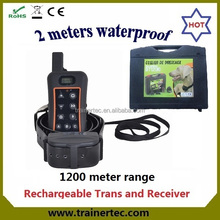 1200 meter rechargeable and waterproof dog tracking device