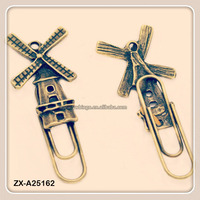 Windmill Personalized Custom Engraved Metal Souvenir Bookmark - great gift for book lovers