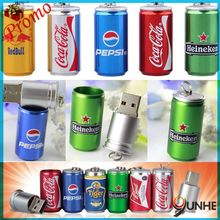 2015 hot promotional customized CAN shape USB 3.0