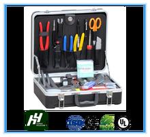 YH-9023 Deluxe Fiber Optic Fusion Splicing Tool Kit