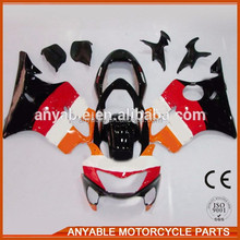 Cheap and high quality for HONDA 04-07 cbr600rr body kit full fairing t from china