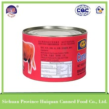 China wholesale cheap canned food curry beef