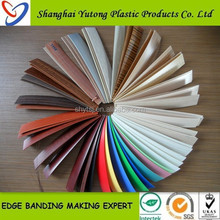 customization accepted envoronmetal pvc edge banding