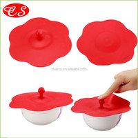 Eco-friendly fashion style FDA approved silicone food fresh cover stretch wrap silicone cup lid